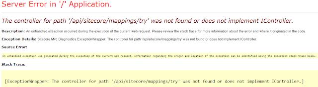API Error