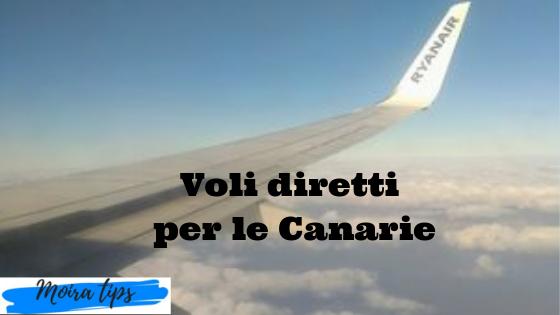 voli diretti per Gran Canaria
