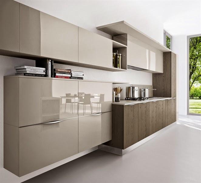 cocinas-de-colores-combinados-arredo3-6jpg (662×600) Cocinas - cocinas pequeas minimalistas