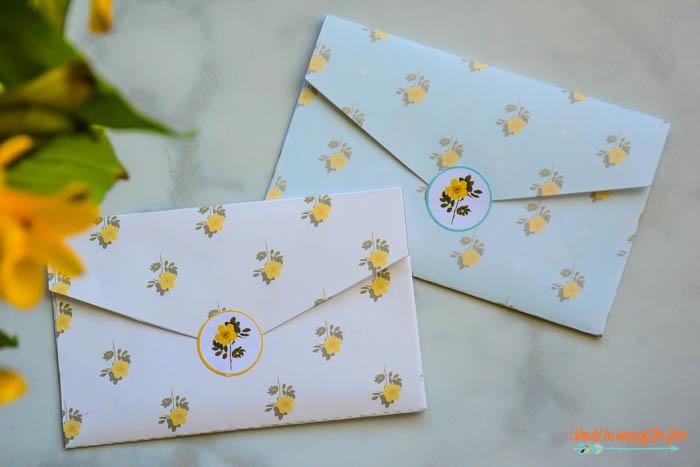 Pretty Envelope Seals