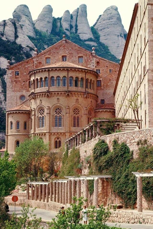 Overbought - Benedictine Monastery, Monserrat, Spain