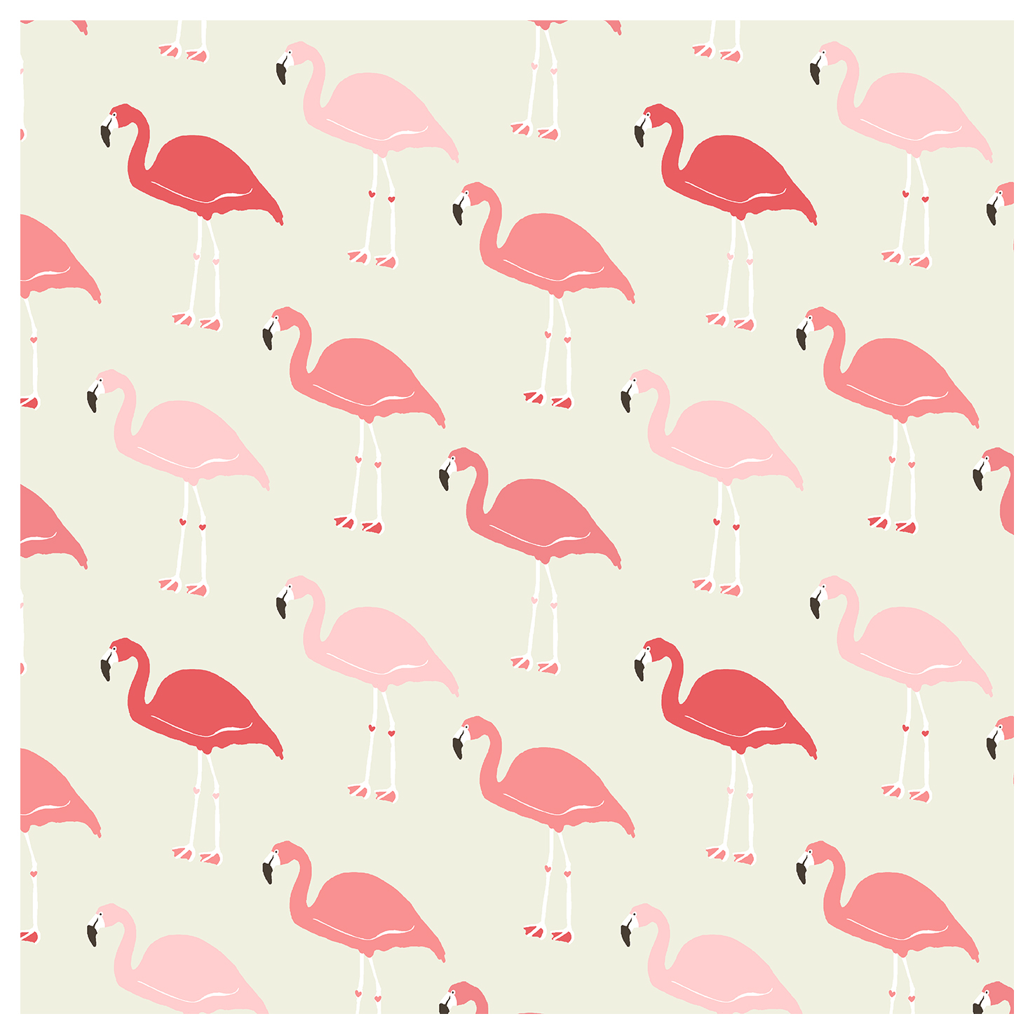 Fabulous Flamingo Wallpaper The Glam Pad