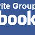 cara auto invite group facebook