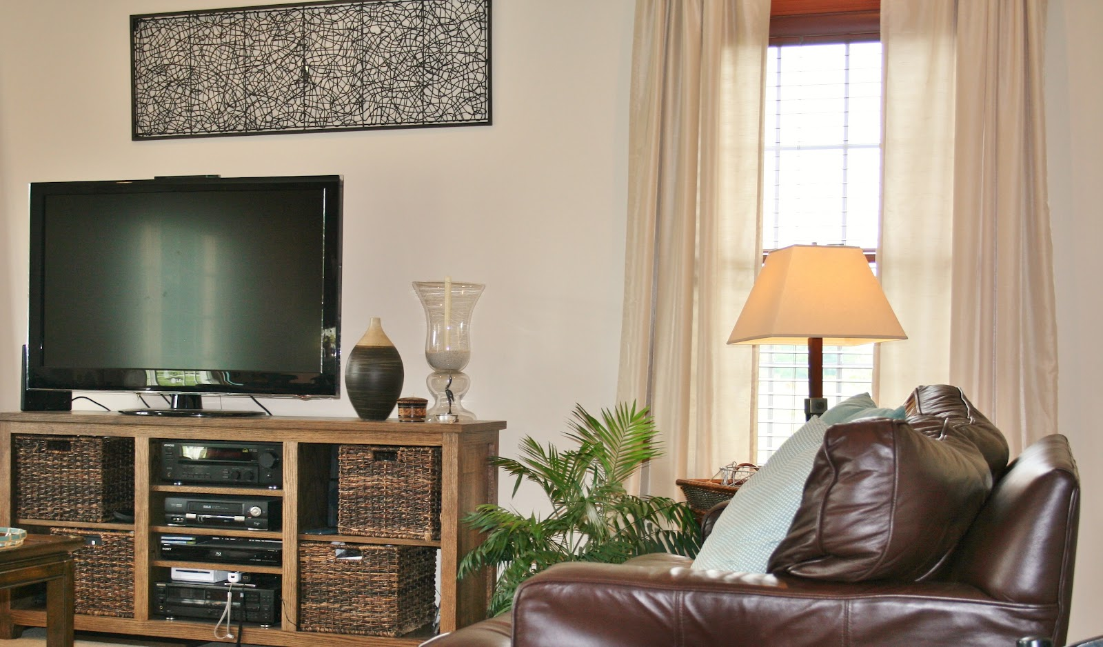 I Love My Art Work Hanging Above The Tv Think It Adds A Little Funky Touch To Decorating