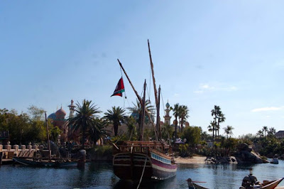Arabian port in Tokyo Disneysea Japan