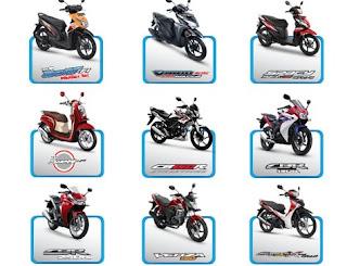 Daftar Lengkap Harga Motor Honda Terbaru Juli 2016