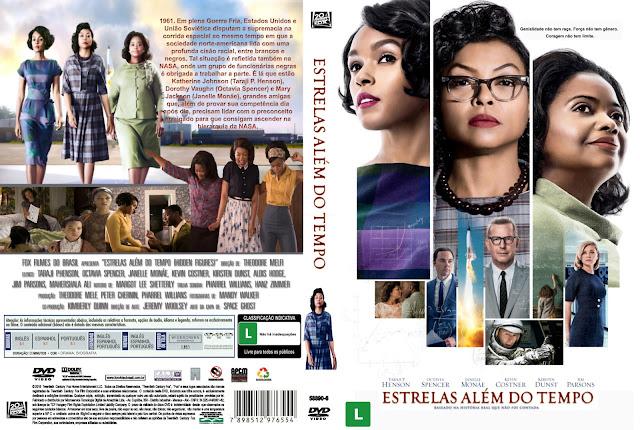 Capa DVD Estrelas Além Do Tempo