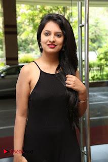 Actress Nikita Bisht Pictures in Black Long Dress at Akritti Elite Exhibition Launch  0004.jpg