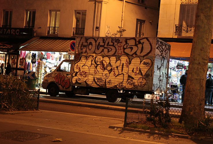 graffiti parisien