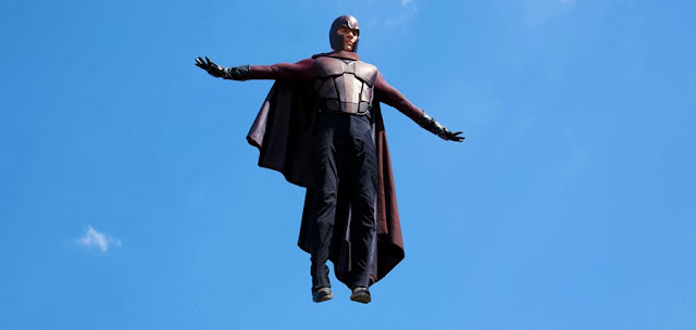 Magneto şi noua sa armură din X-Men Days Of Future Past