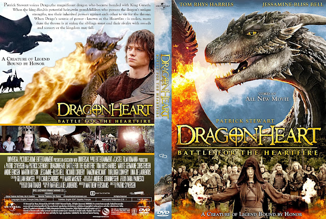 Dragonheart: Battle for the Heartfire DVD Cover