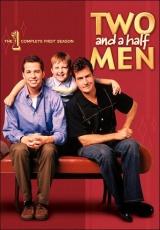 """Carátula del DVD: """"Dos hombres y medio"""""""