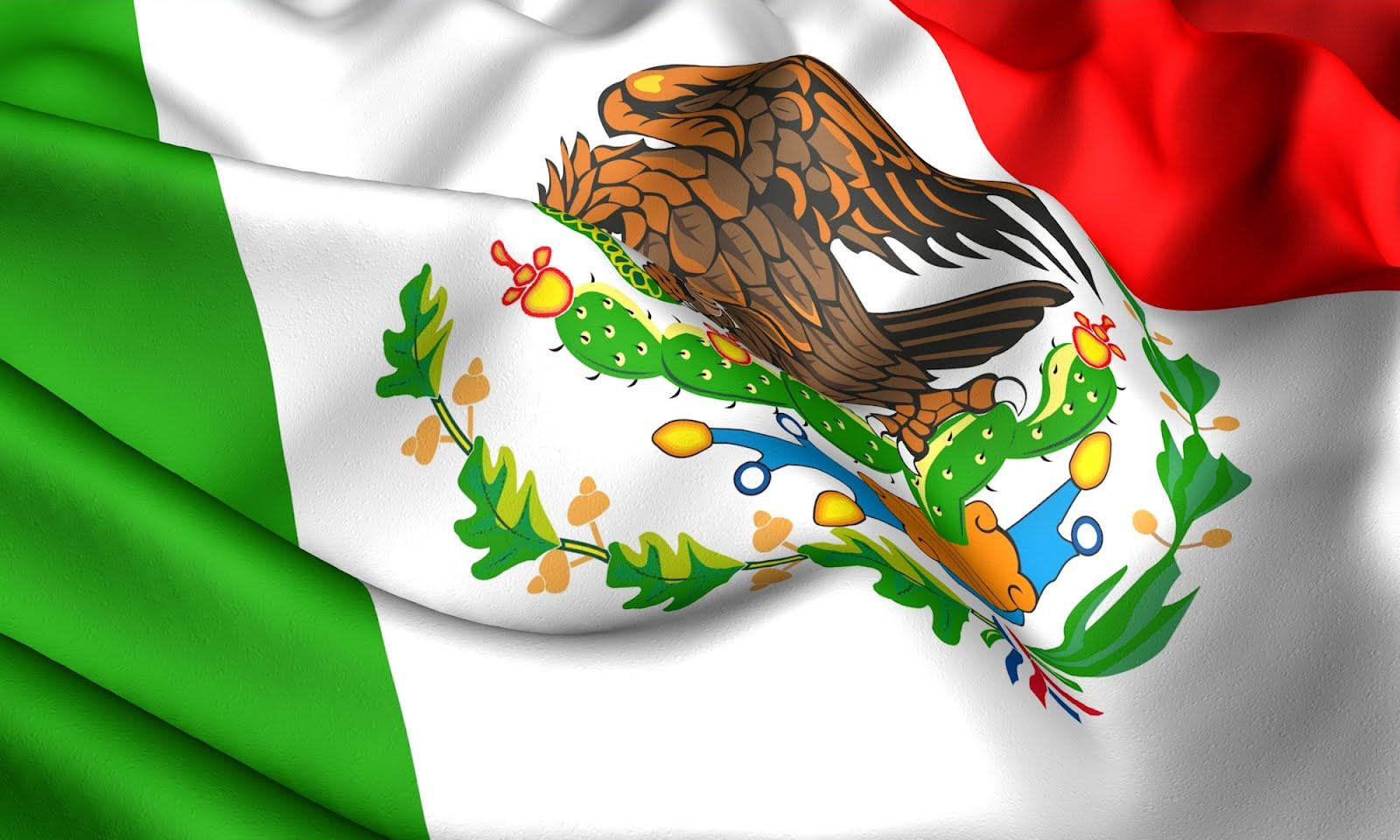BANCO DE IMÁGENES: Bandera Mexicana