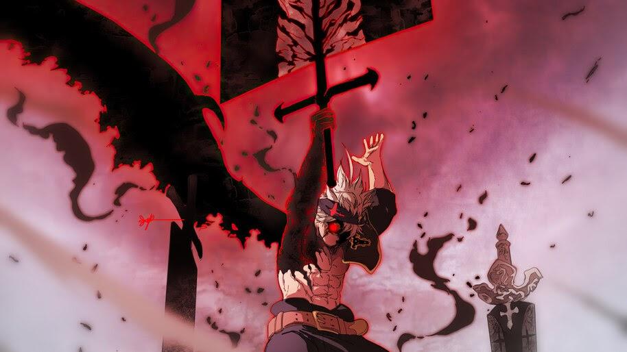 Asta, Sword, Black Clover, Anime, 4K, #6.833