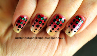 Dotty Gradient Nails