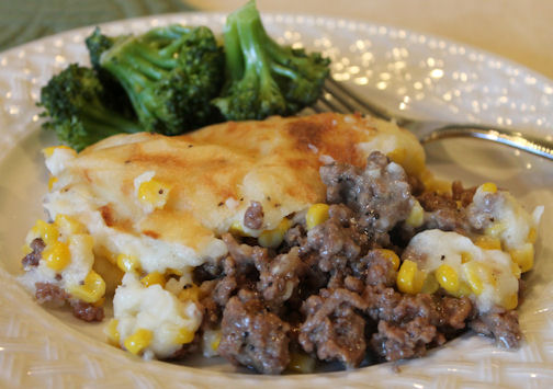 Rustic Shepherd's Pie for Dinner