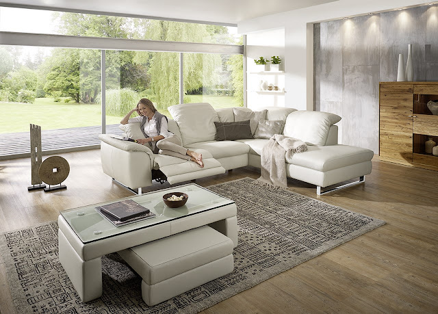 Italian White Leather Sofa Living Room Ideas
