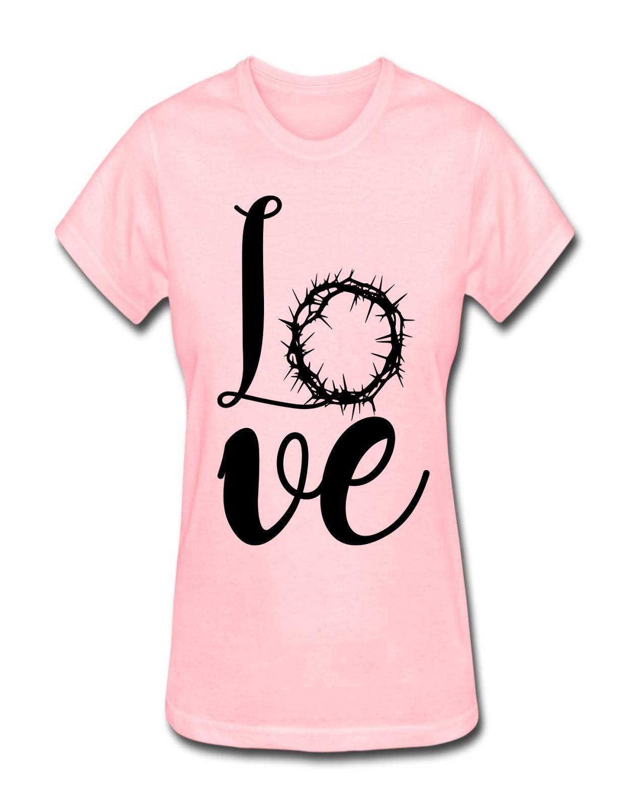 b11204e2e6 Camisa feminina moda gospel rosa