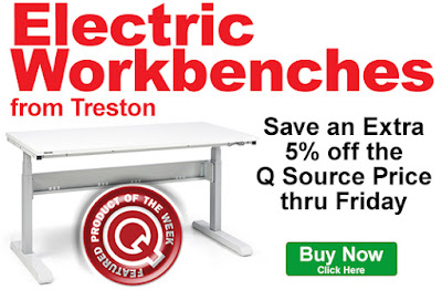 Save an extra 5% on Treston Electric Workbenches