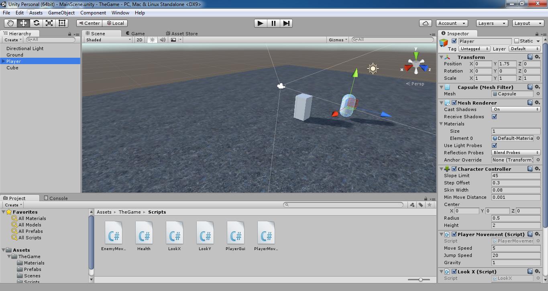 bc6260ec0c69 Unity 5.3 sürümünden bir görüntü. Şimdi seçtiğiniz oyun motoru hakkında  bilgi edinin.İnternette birsürü dersler var.Çok iyi bir araştırmacı olun.