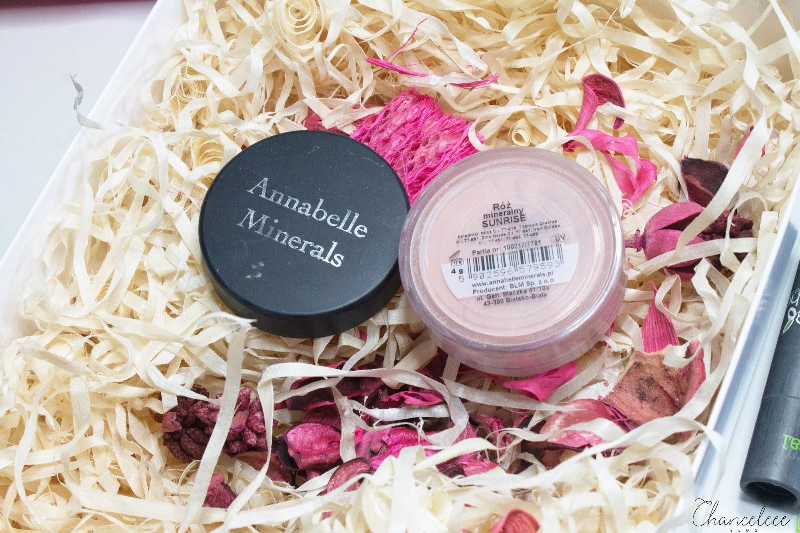 Annabelle Minerals róż mineralny sunrise