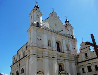 Пінськ. Костел Успіння Святої Діви Марії