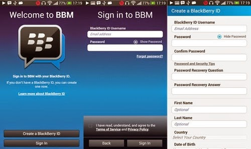 BBM Official Playstore V2.6.0.28
