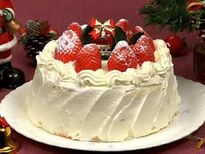 طريقة عمل طورطة عيد ميلاد cake christmas