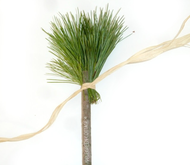 DIY Nature Paint Brushes for Kids - Making your own nature paint brushes is easy, fun and free! It will get you and your kids out in the nature and kids will have a blast collecting natural materials - And pine needles make fantastic brushes!