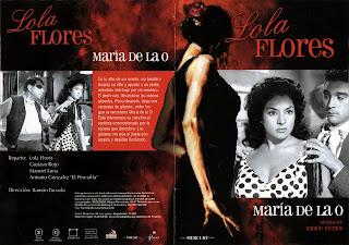 Carátula de María de la O