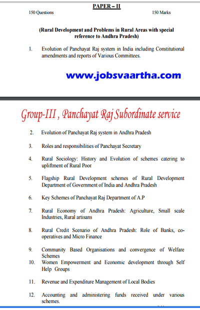 Andhrapradesh Revenue VRA -VRO -Group-III Recruitment Notification Coming soon - VRO / VRA Details - AP VRA / VRO Job Vacancies Details
