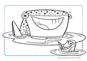 dibujos de buscando a dory  para colorear