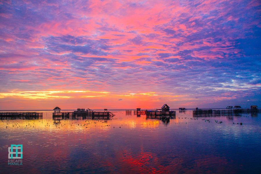 Sunrise in Sibutu Island