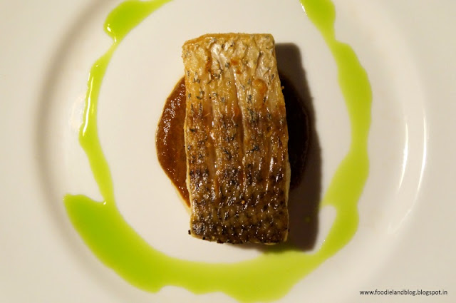Sea bass preparation @A Romantic Dining Experience @ Grasshopper | Bangalore