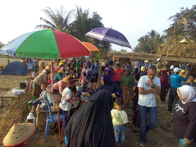 Car Free Day Nuansa Pedesaan di Pasar Inis Desa Brondongrejo, Purworejo