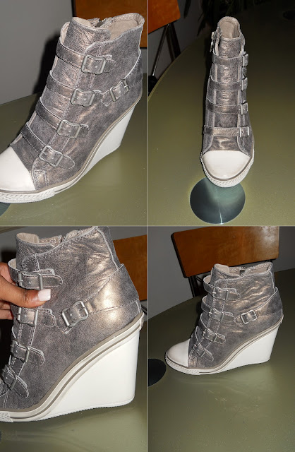 The Wedge Sneaker Trend!