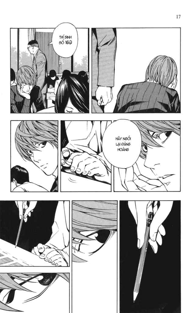 Death Note chapter 018 trang 18