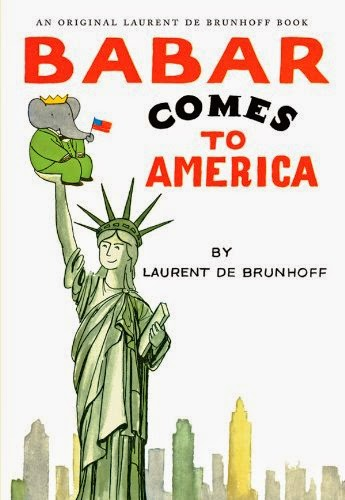 Babar Comes to America, part of book review list about the United States
