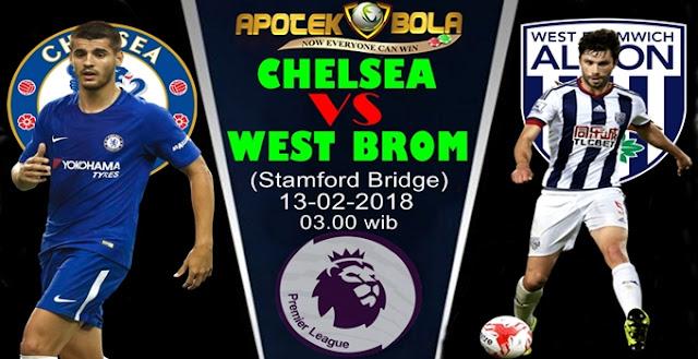 Prediksi Chelsea vs West Brom 13 Februari 2018