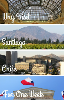 Pinterest Pin: Why Visit Santiago Chile for One Week