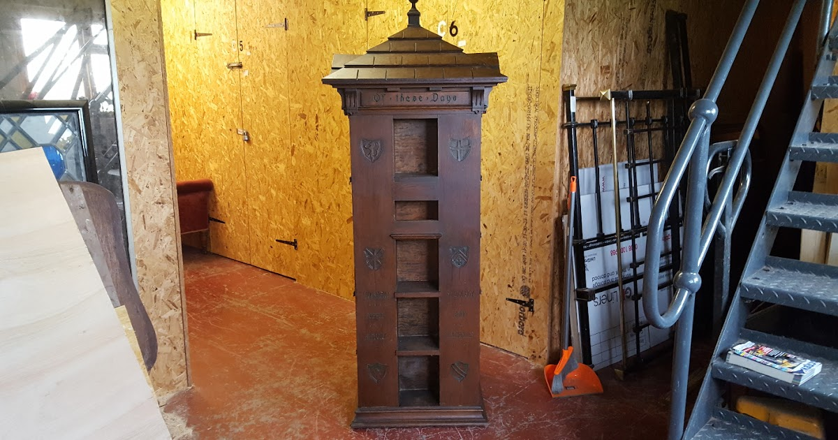Pughs Antiques And Interiors Tabard Inn Library Revolving Bookcase