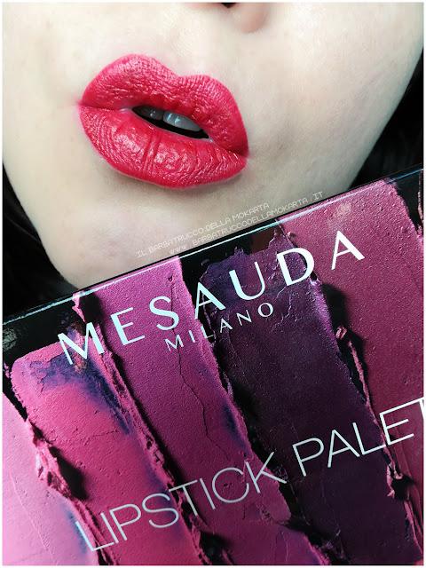 lips lipstick palette mesauda rossetti