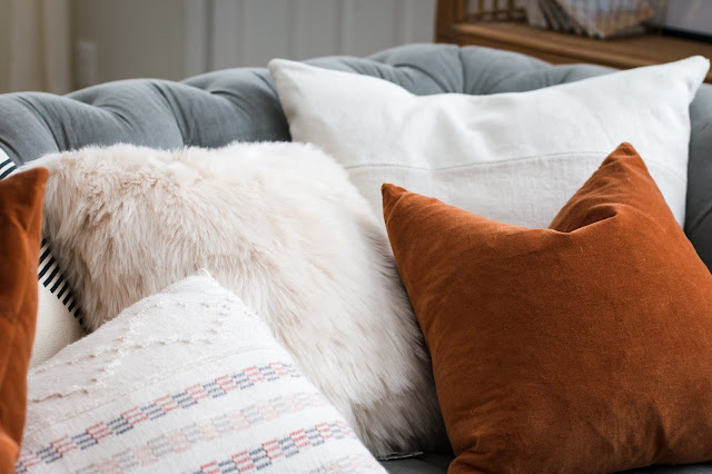 Fall Pillows on a Budget