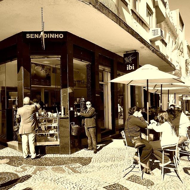 Café Ponto Chic, o Senadinho, em Florianópolis.