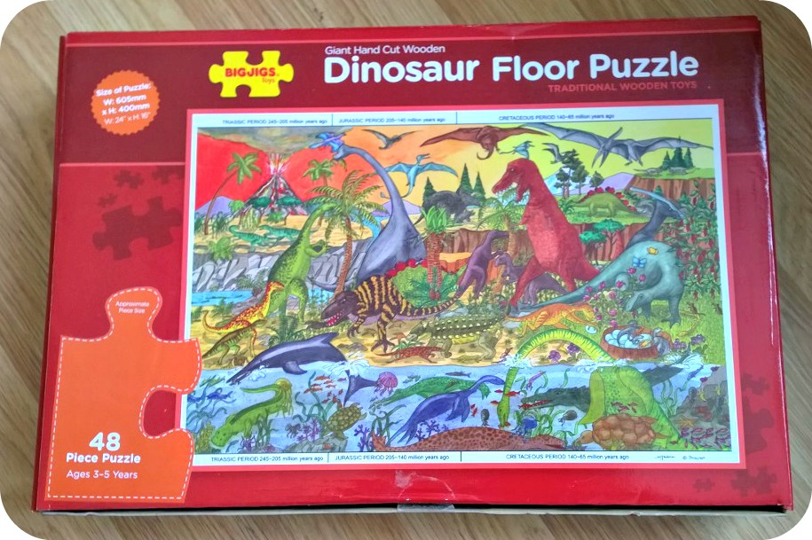 Bigjigs Dinosaur Floor Puzzle in 48 pieces