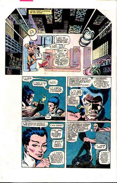 Wolverine v1 #2 - Frank Miller art 1980s marvel comic book page