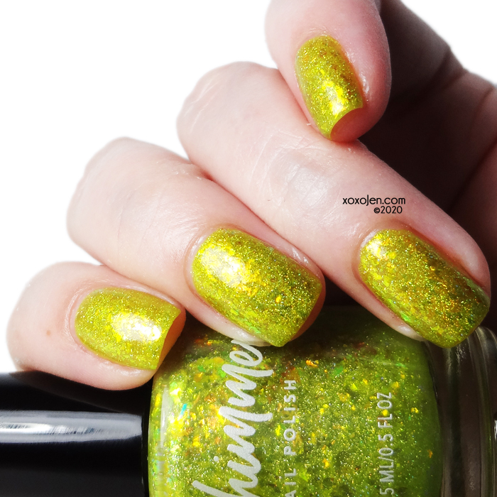 xoxoJen's swatch of KBShimmer Something To Taco 'Bout