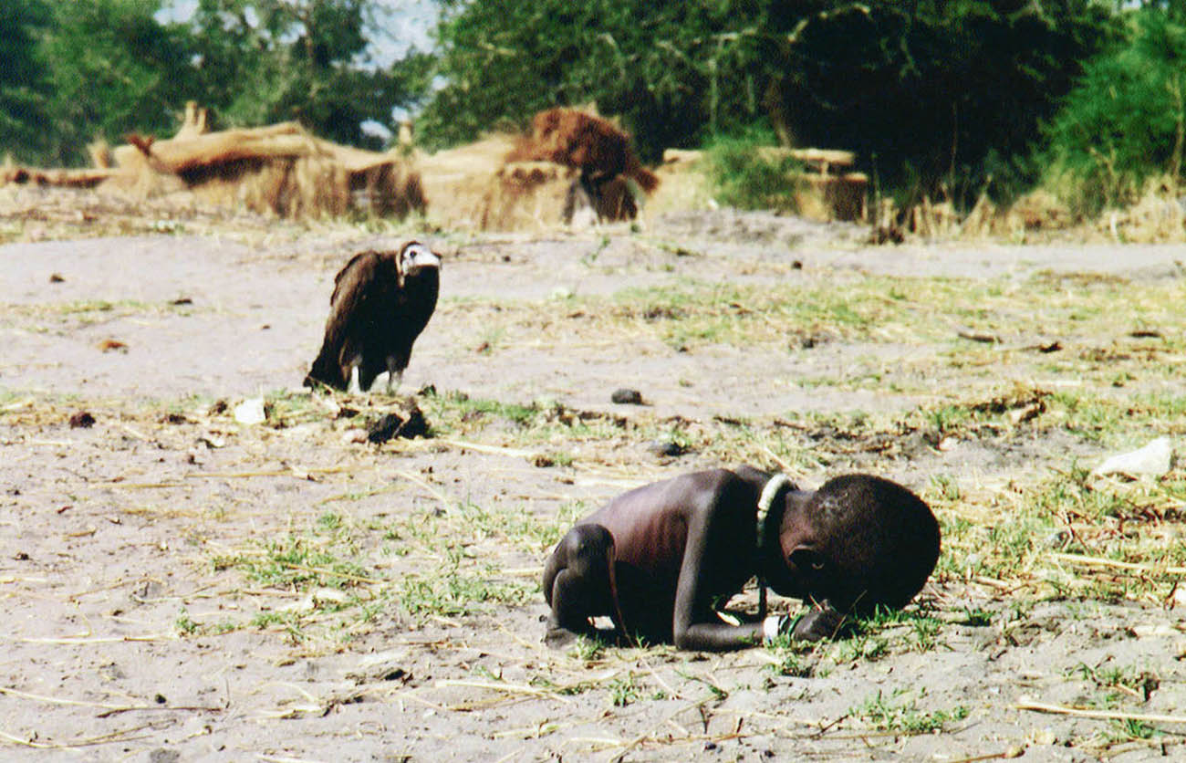 The vulture and the little girl, 1993