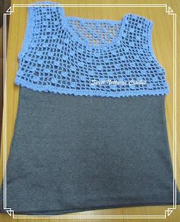 free crochet yoke pattern, free crochet ladies top pattern