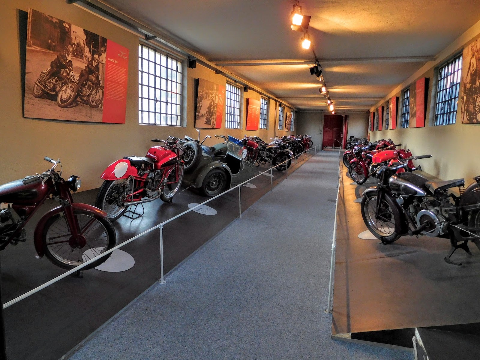 Tigh Loughhead visits the Moto Guzzi Museum with NYDucati